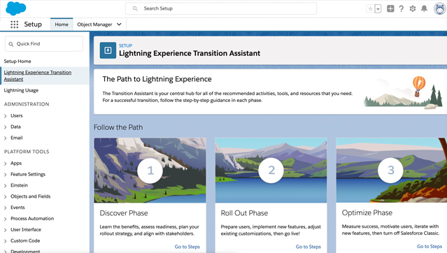 Transition from Classic to Salesforce Lightning